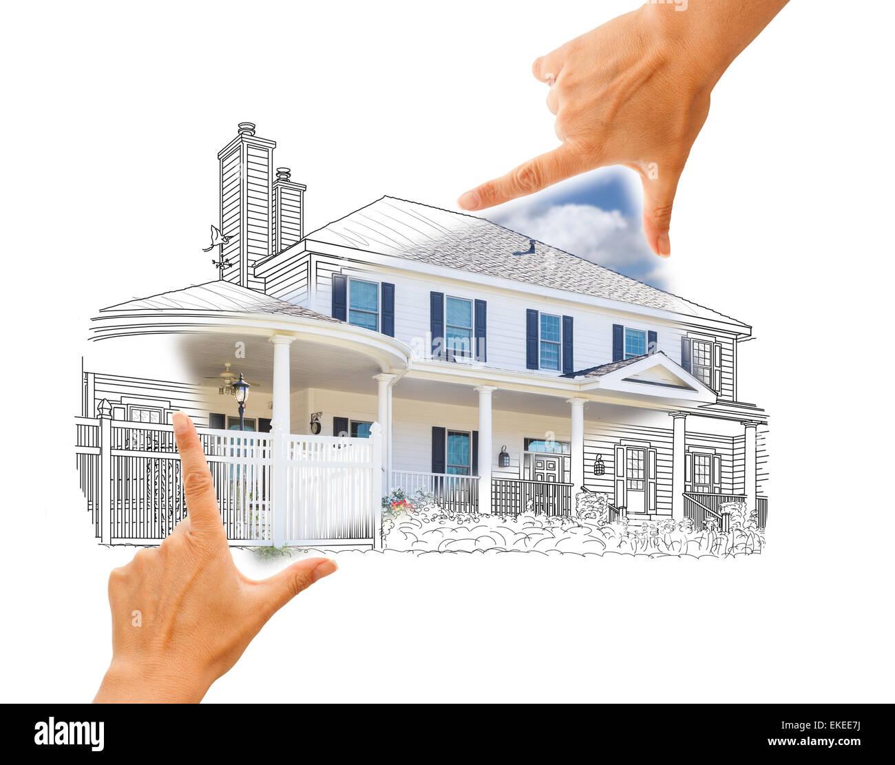 Ausgezeichnet Framing Ein Haus Schritt Für Schritt Fotos - Rahmen ...