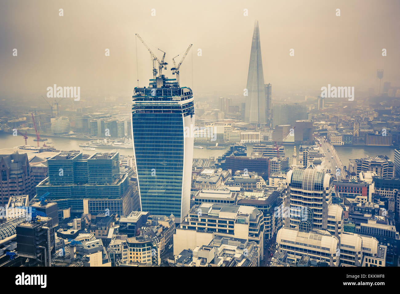 Londoner city Stockbild