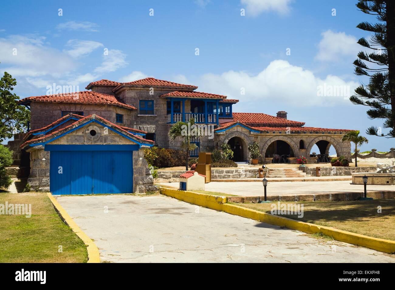 Al Capone Haus, Varadero, Matanzas, Kuba Stockfoto, Bild ...