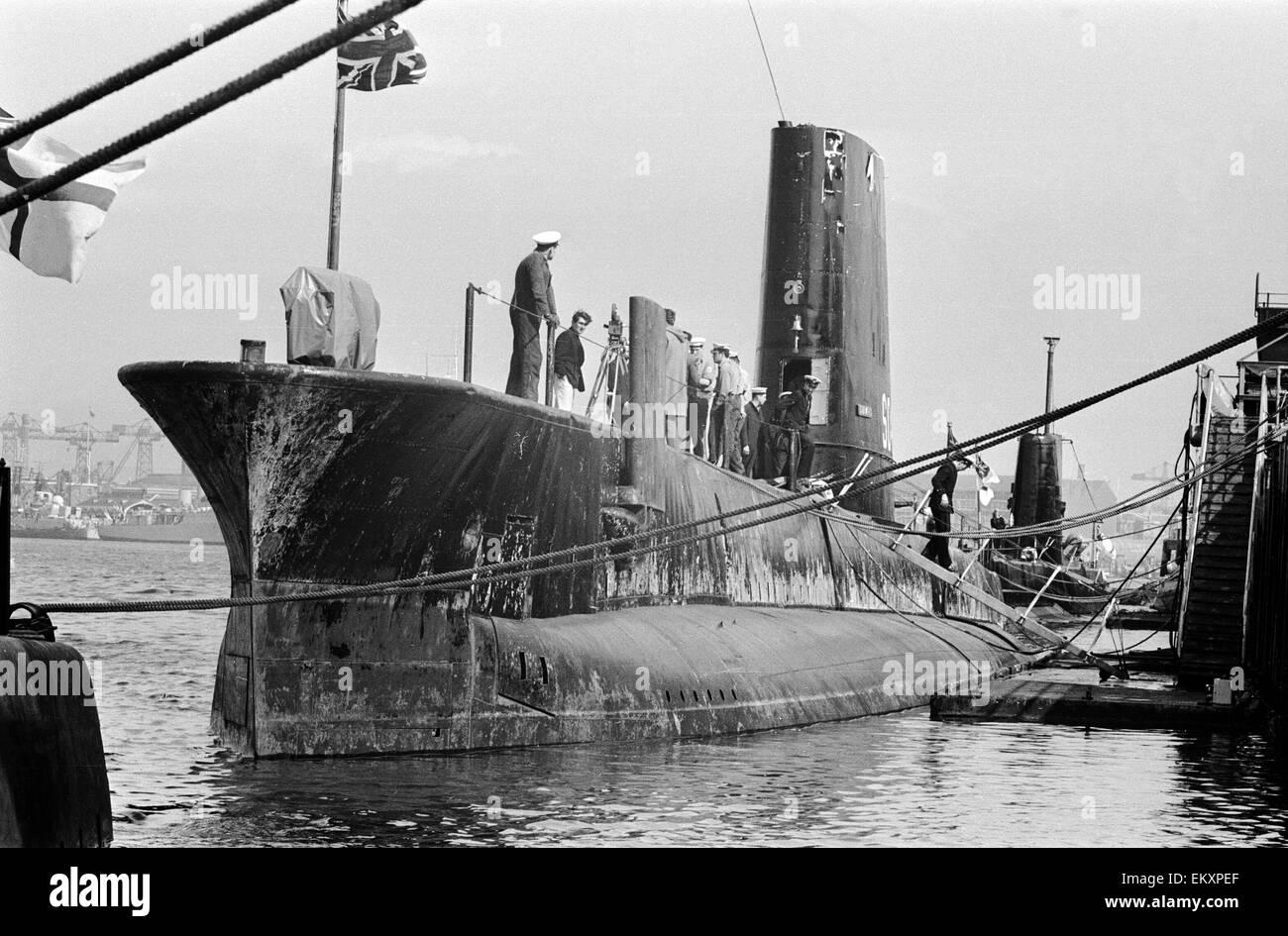U Boot Porpoise Klasse Royal Navy Submarine S...