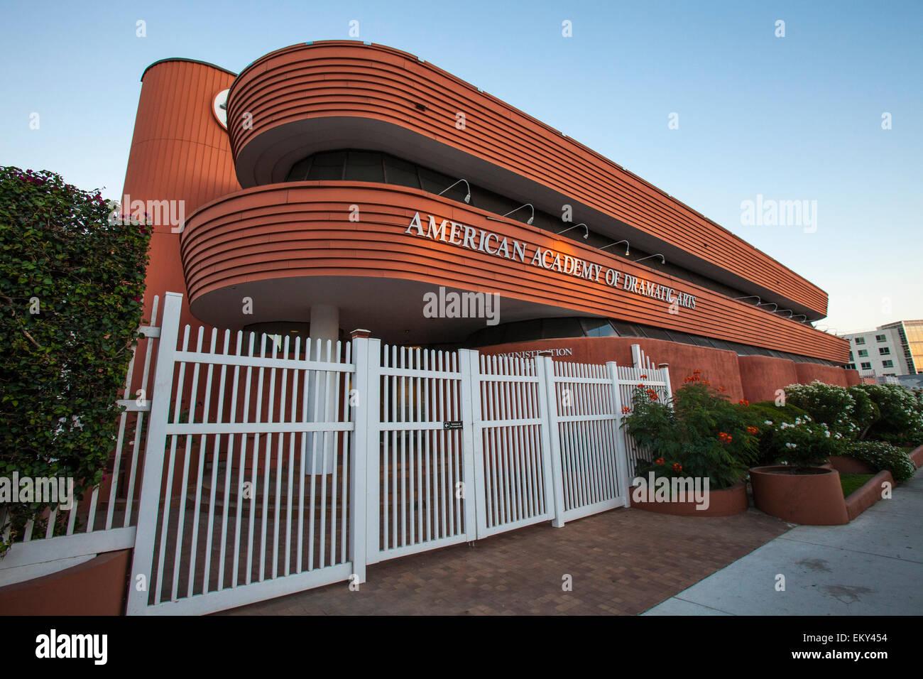 American Academy of Dramatic Arts, Hollywood, Kalifornien, USA Stockbild