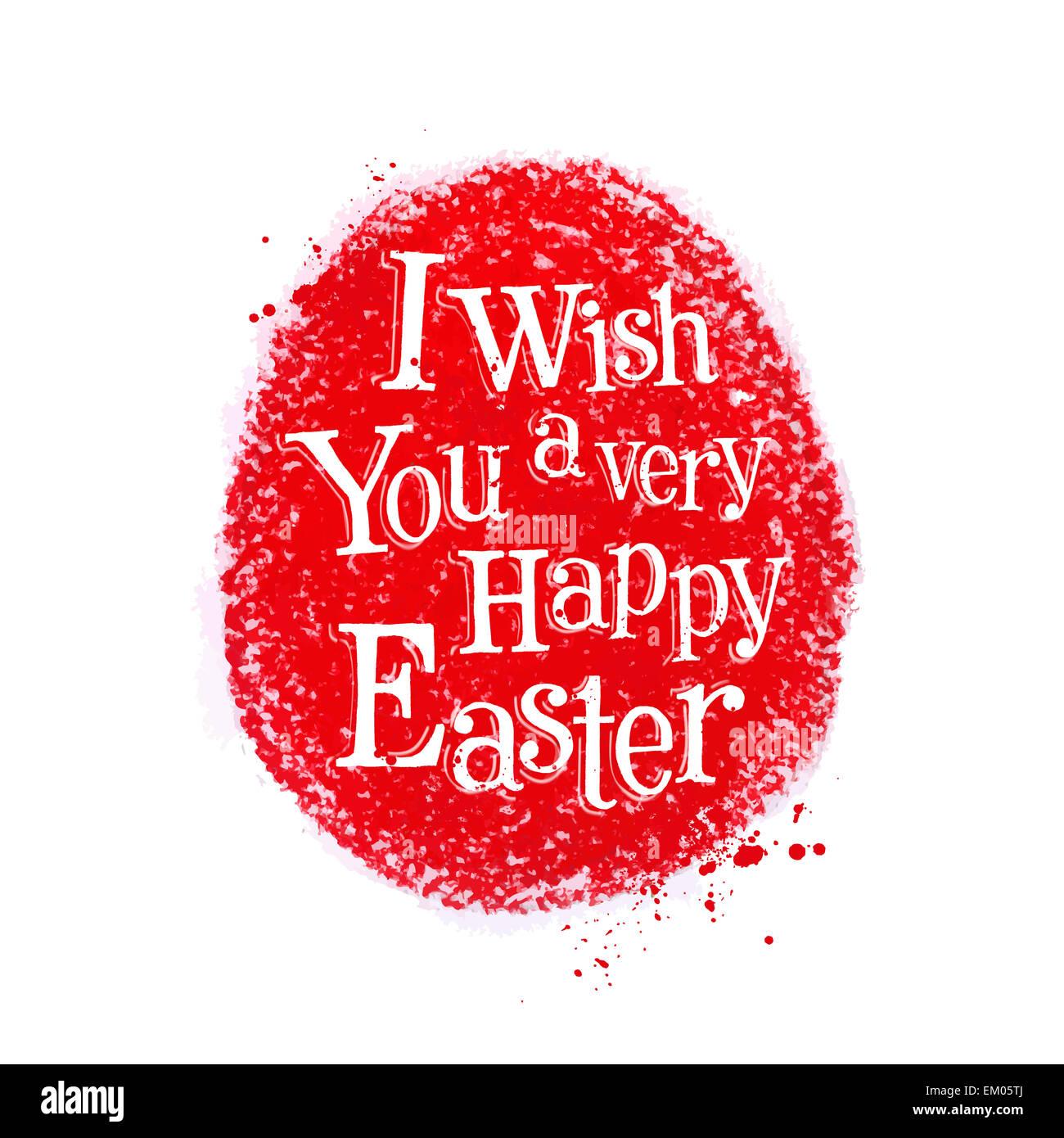 Ostern-Vektor-Logo-Design-Vorlage. Ei oder Urlaub-Symbol. Stockbild