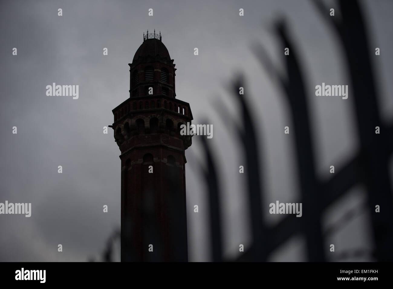 18.02.2015. Manchester, UK. GV der HMP Manchester (aka Strangeways Gefängnis). © Joel Goodman/Alamy Live Stockbild