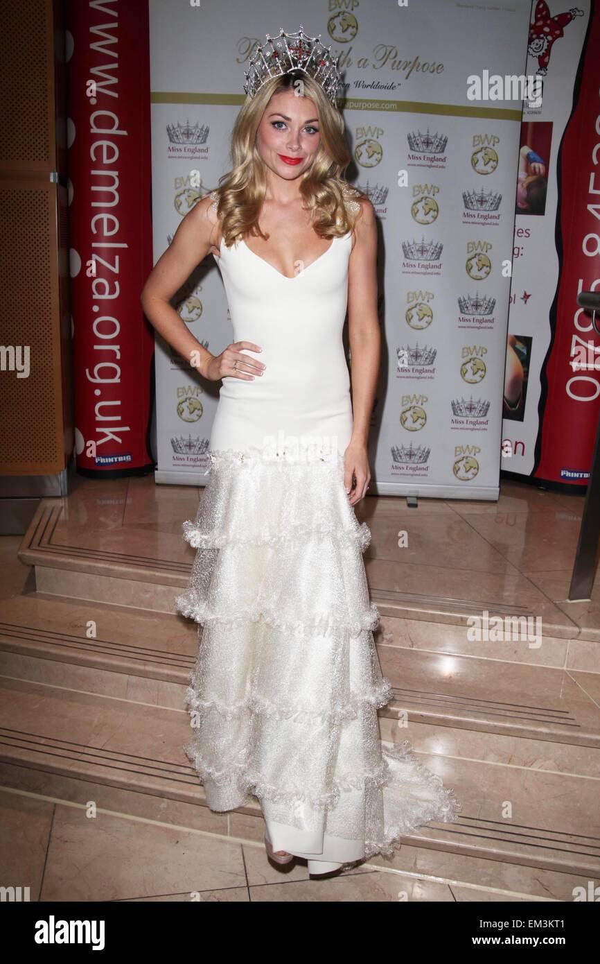 Miss England Georgia Horsley Stockfotos & Miss England Georgia ...