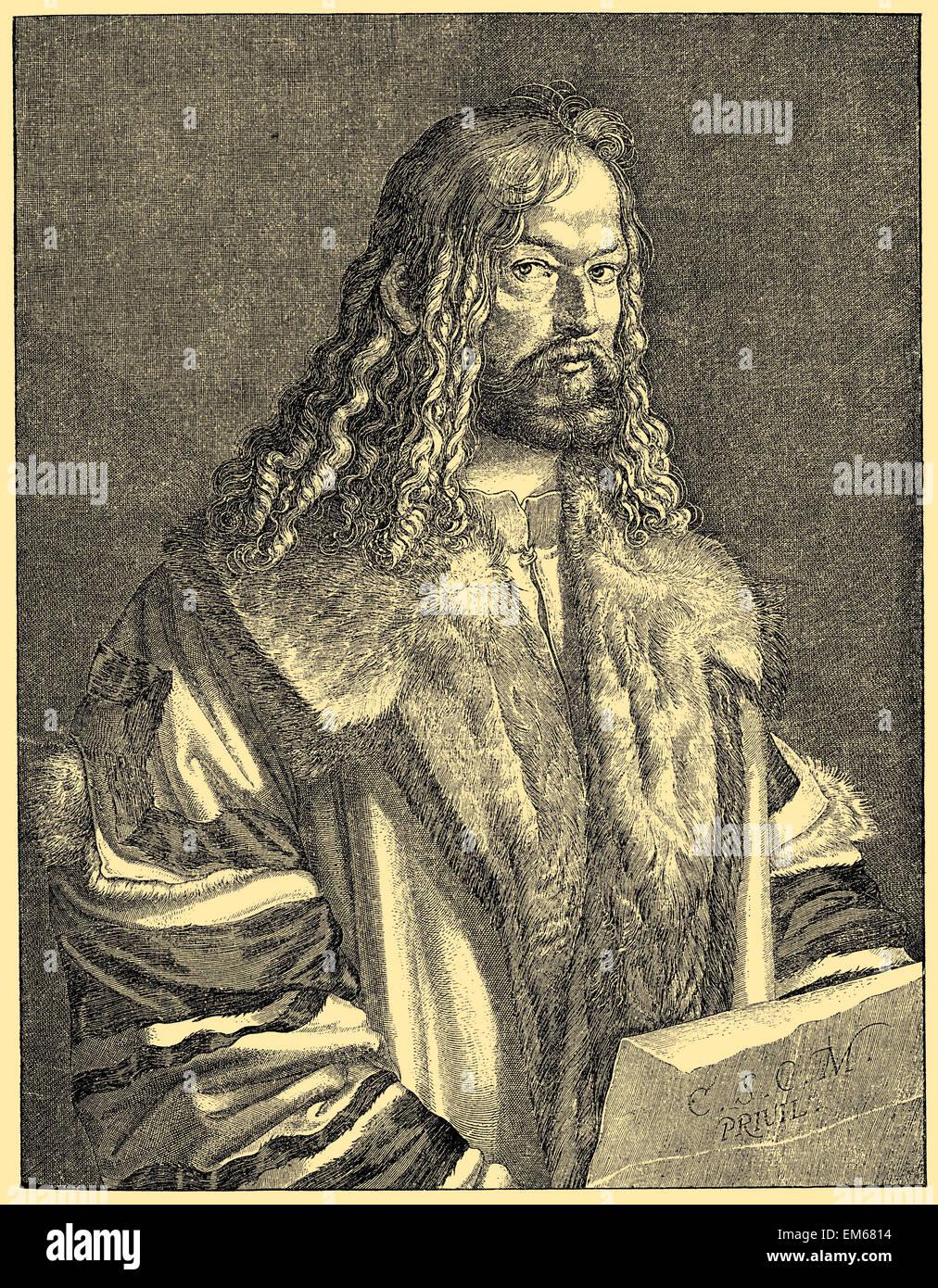 Albrecht Dürer (1471 ? 1528), deutscher Maler, Grafiker und Theoretiker Stockbild