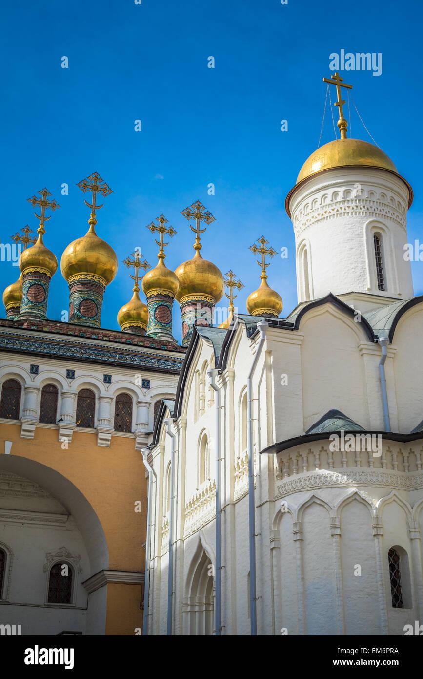 Kirche der Ablagerung von Robe, Moskauer Kreml, Russland Stockbild