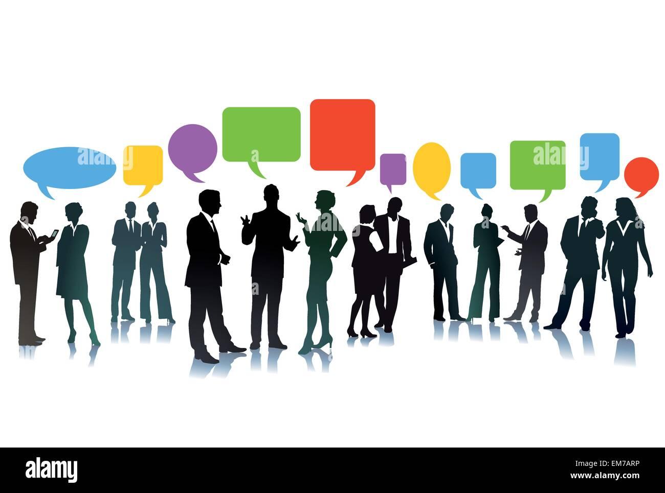 Unternehmensbörse der Ideen Stockbild