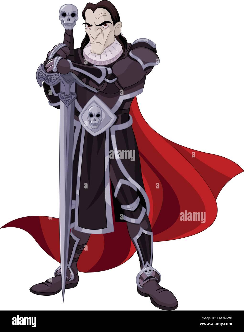 The Dark Knight Stockbild