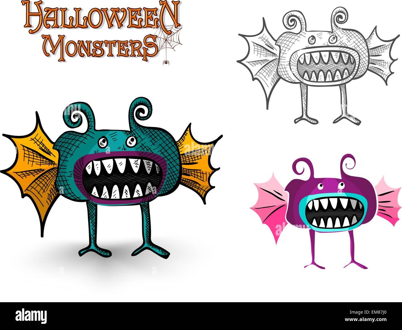 Groß Bedruckbare Halloween Ausschnitte Zeitgenössisch - Malvorlagen ...