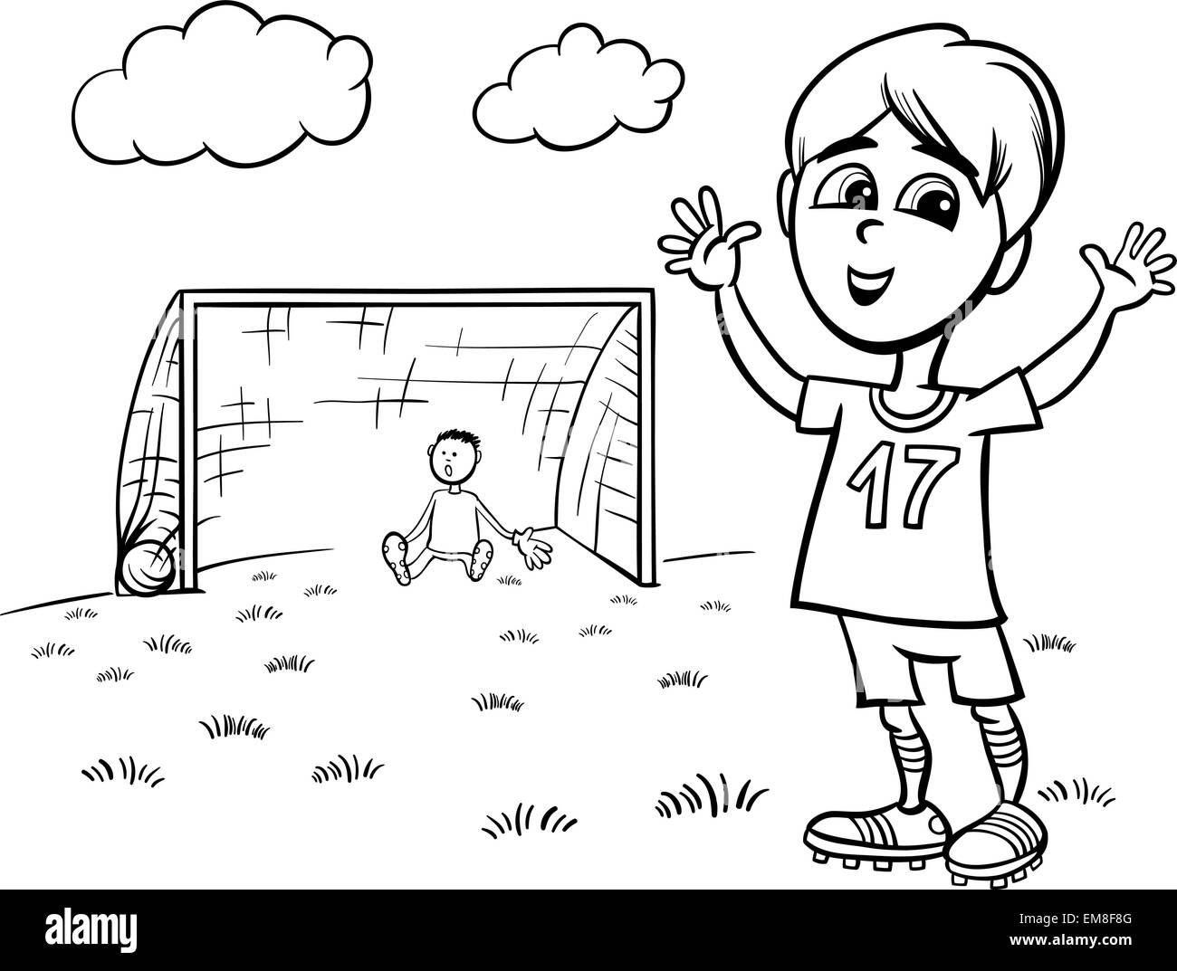 Fein Fußball Malvorlagen Zeitgenössisch - Beispiel Business ...