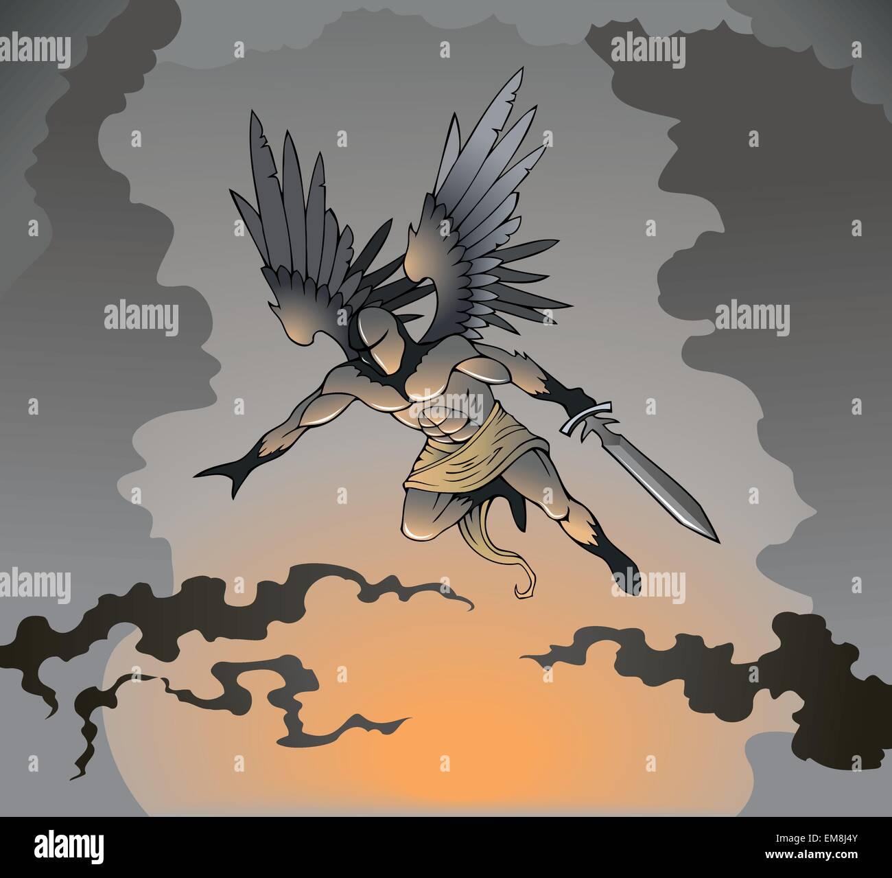 Engel dunkle Analcreme