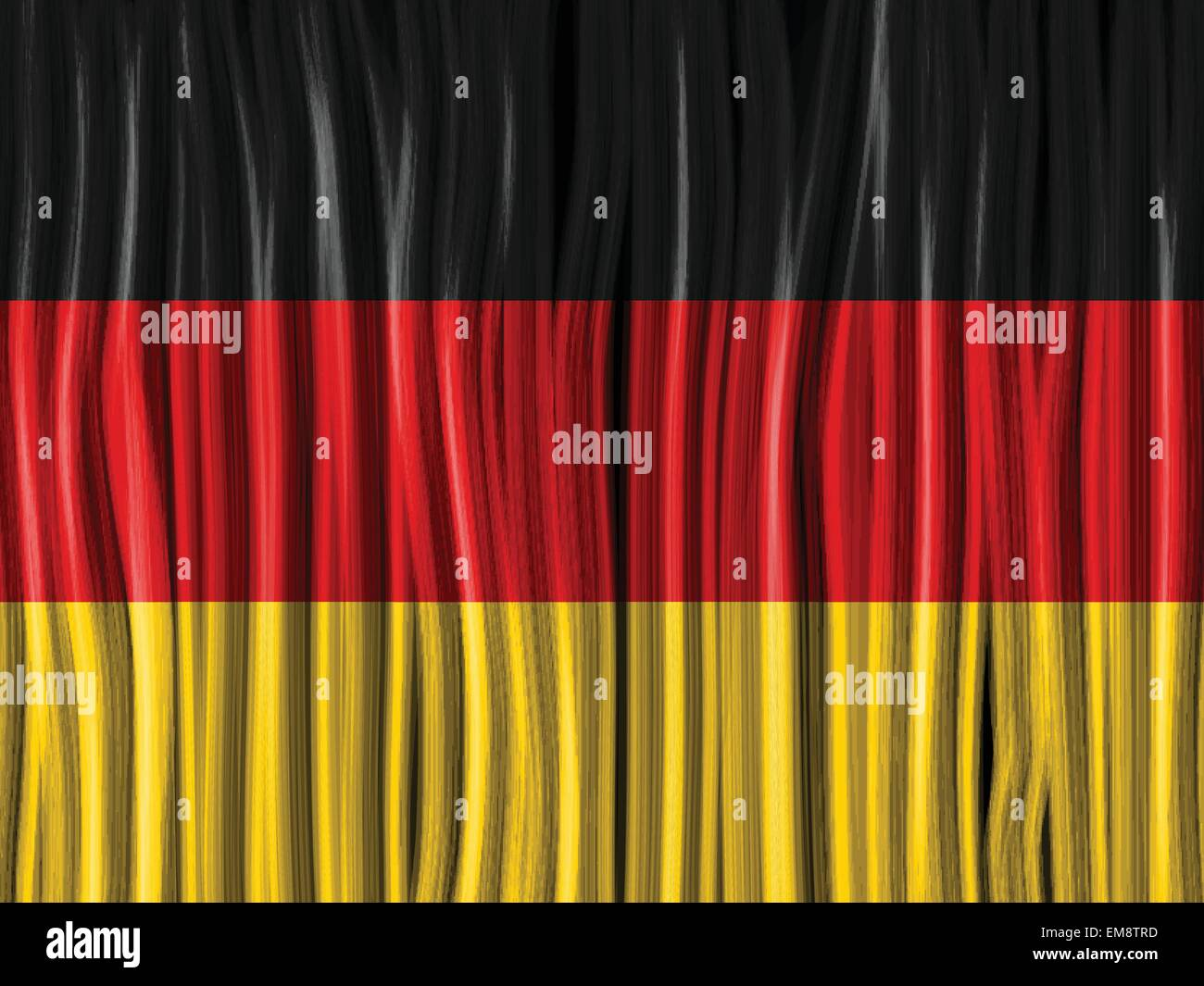 deutschland flagge welle stoff textilhintergrund vektor abbildung bild 81329681 alamy. Black Bedroom Furniture Sets. Home Design Ideas