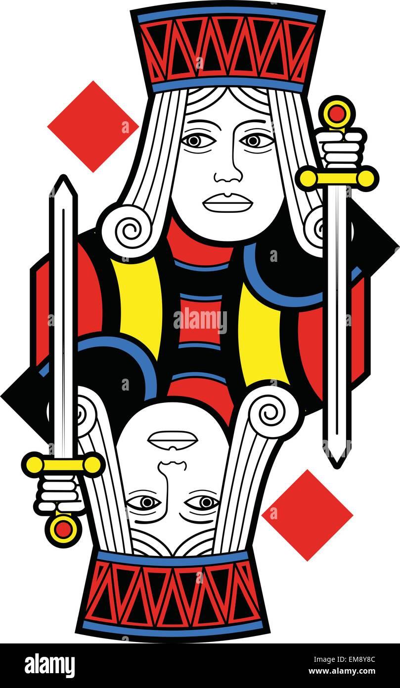 Jack Diamonds Playing Card Stockfotos & Jack Diamonds Playing Card ...