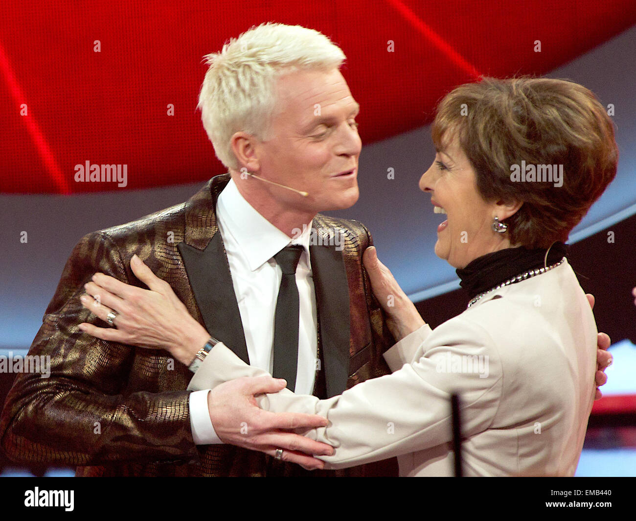 München, Deutschland  18  April 2015  TV-Moderator Guido