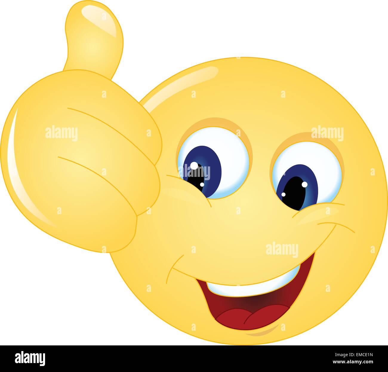 smiley daumen hoch