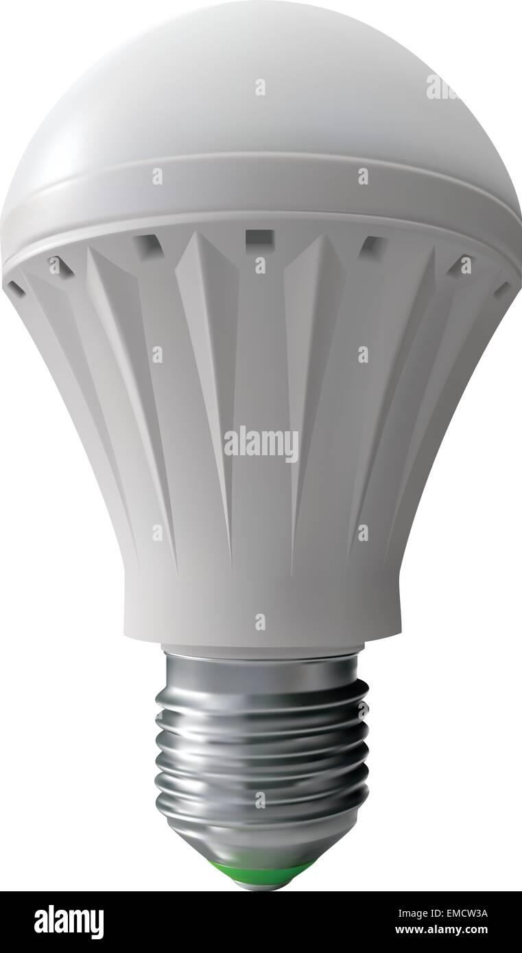 Moderne Lampe für Beleuchtung Stockbild
