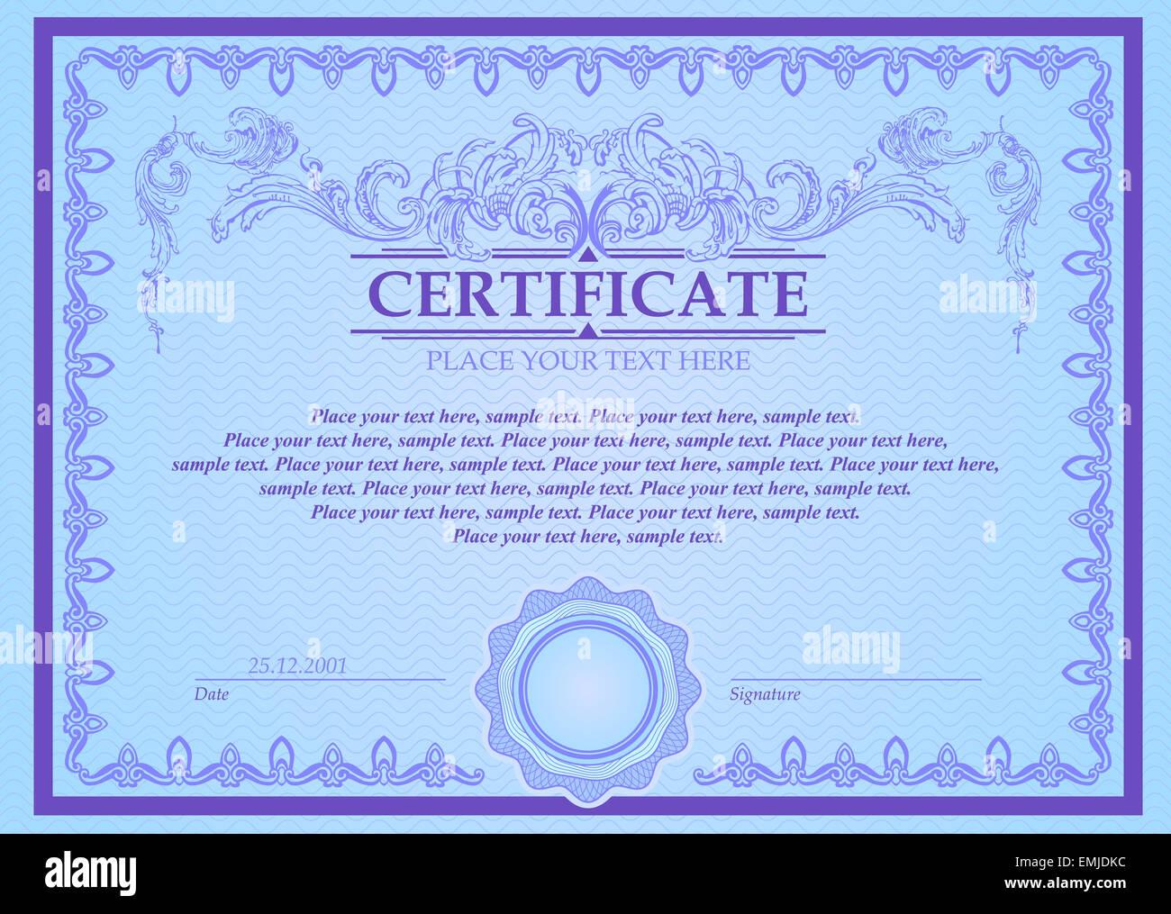 Ausgezeichnet Zertifikatvorlagen Wort Fotos - Bilder für das ...