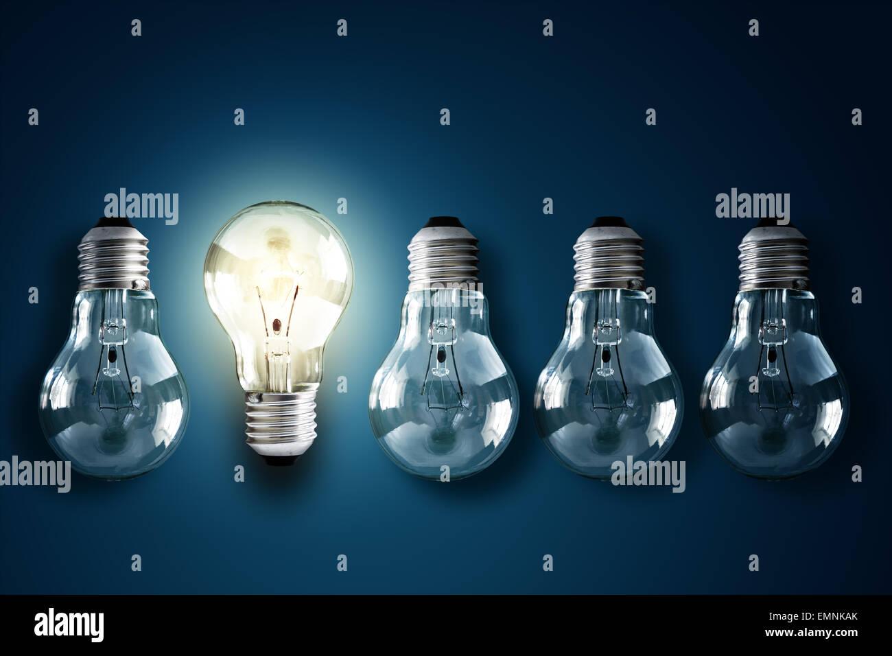 Kreativität und innovation Stockbild