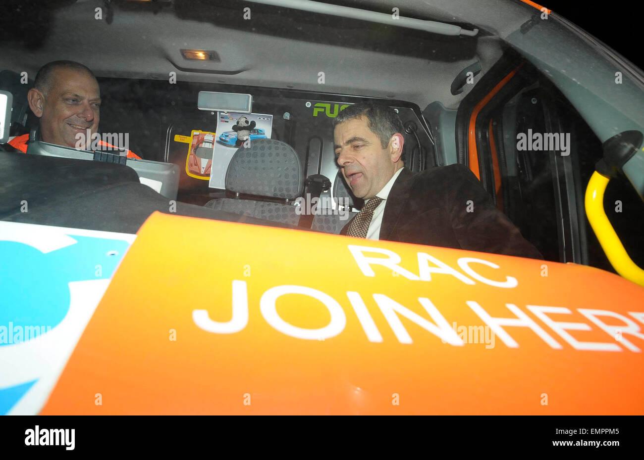 10 December 2009 London Schauspieler Rowan Atkinson Hat Ein Herr