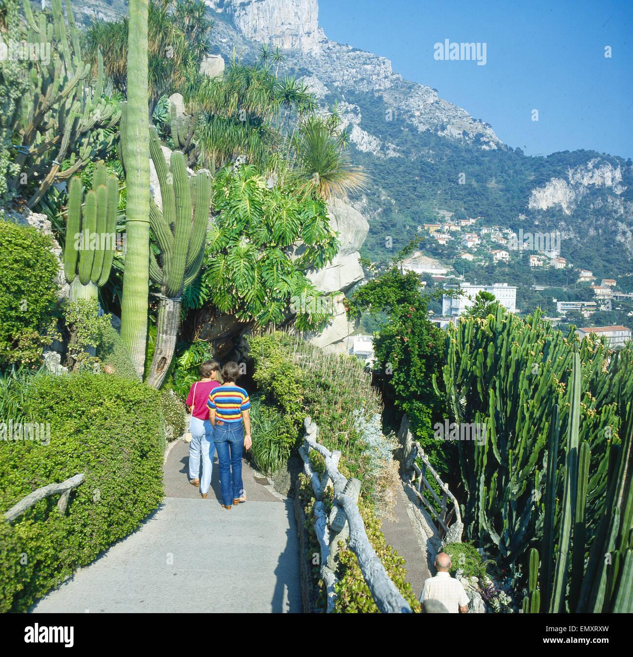 Monaco Botanischer Garten Stockfoto Bild 81724129 Alamy