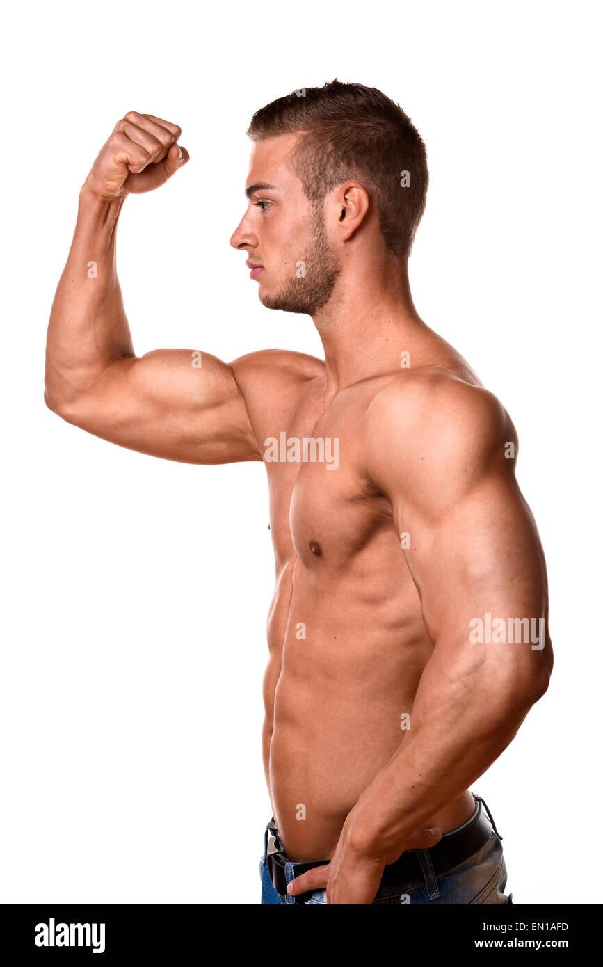 Trainierte männer bilder