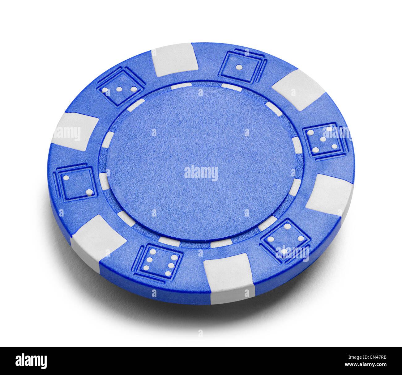 Blauer Pokerchip Stockfotos Blauer Pokerchip Bilder Alamy