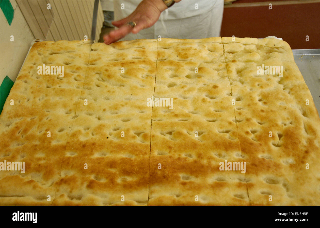 typische ligurische und Genueser Kuchen, original italienische Küche ...