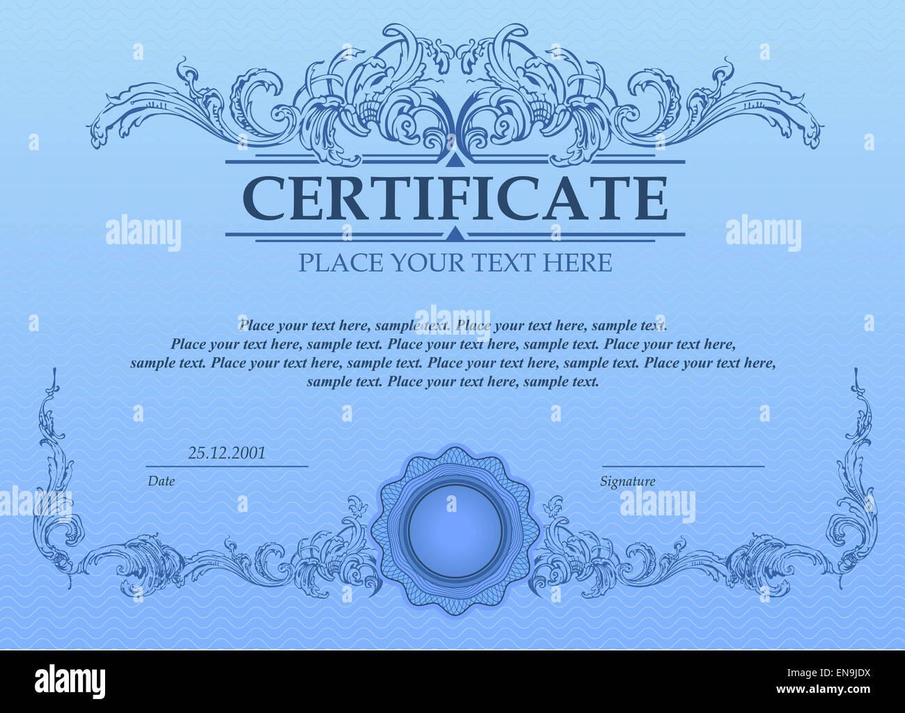 Nett Zertifikat Der Analysevorlage Ideen - Entry Level Resume ...