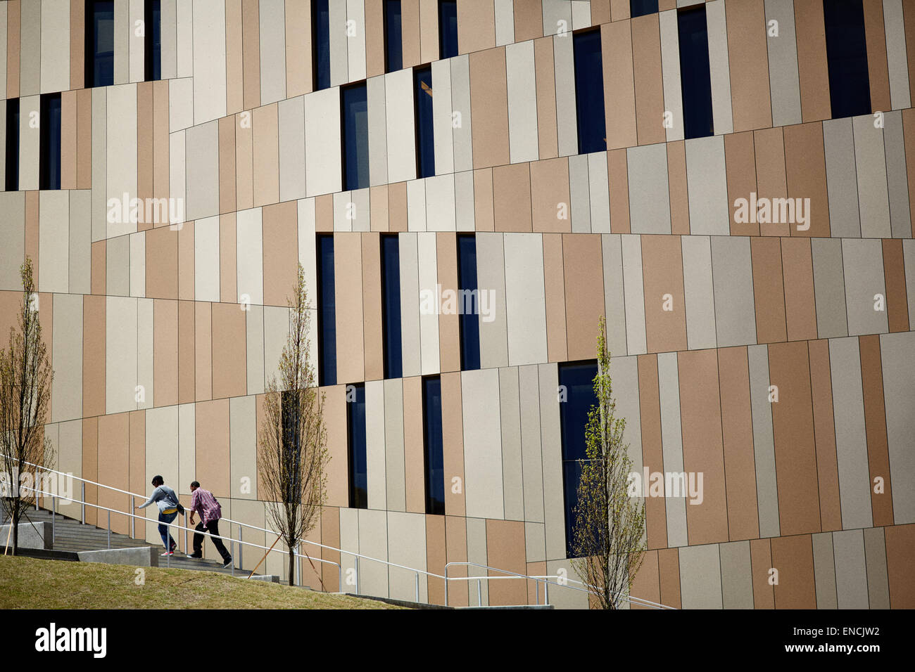 Die Innenstadt von Atlanta, Georgia USA Bild: das Center für Zivil- und Menschenrechte ist ein Museum für Stockbild