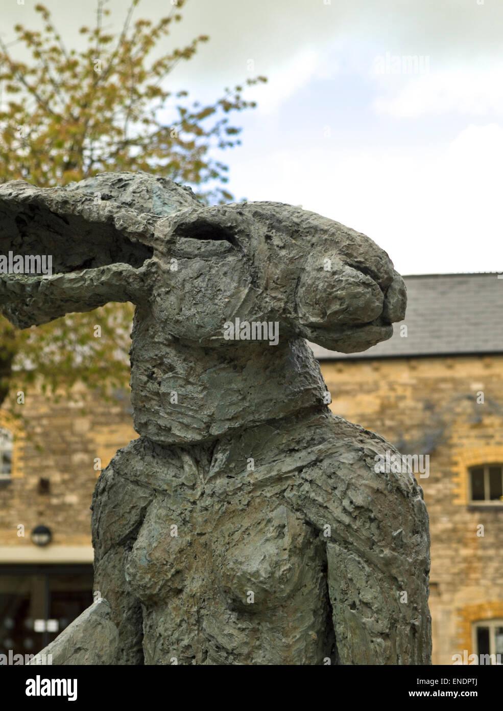 Sophie Ryder Hare Sculpture Stockfotos & Sophie Ryder Hare Sculpture ...