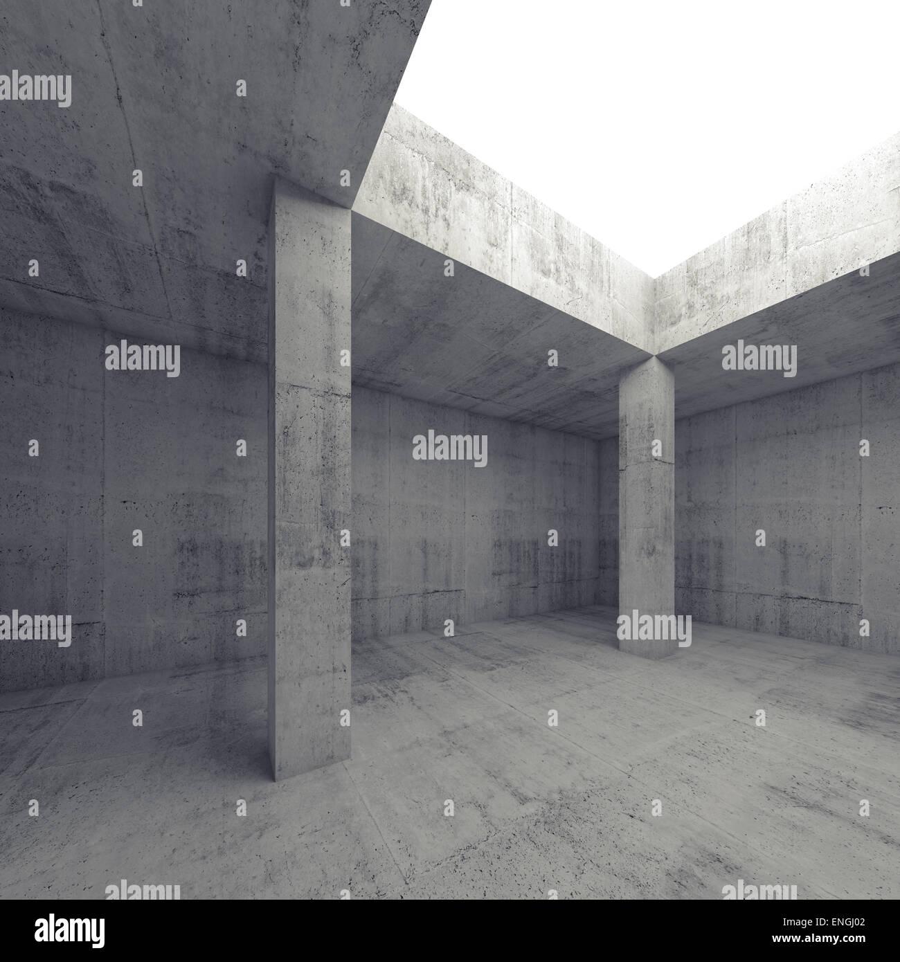 3d Architecture Monochrome Abstract White Stockfotos & 3d ...