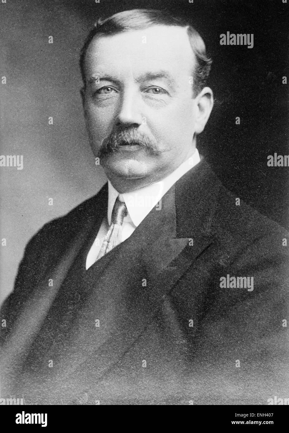 Arthur Henderson, britische Labour-Politiker und Friedensnobelpreisträger in 1934 und diente drei getrennte Stockbild