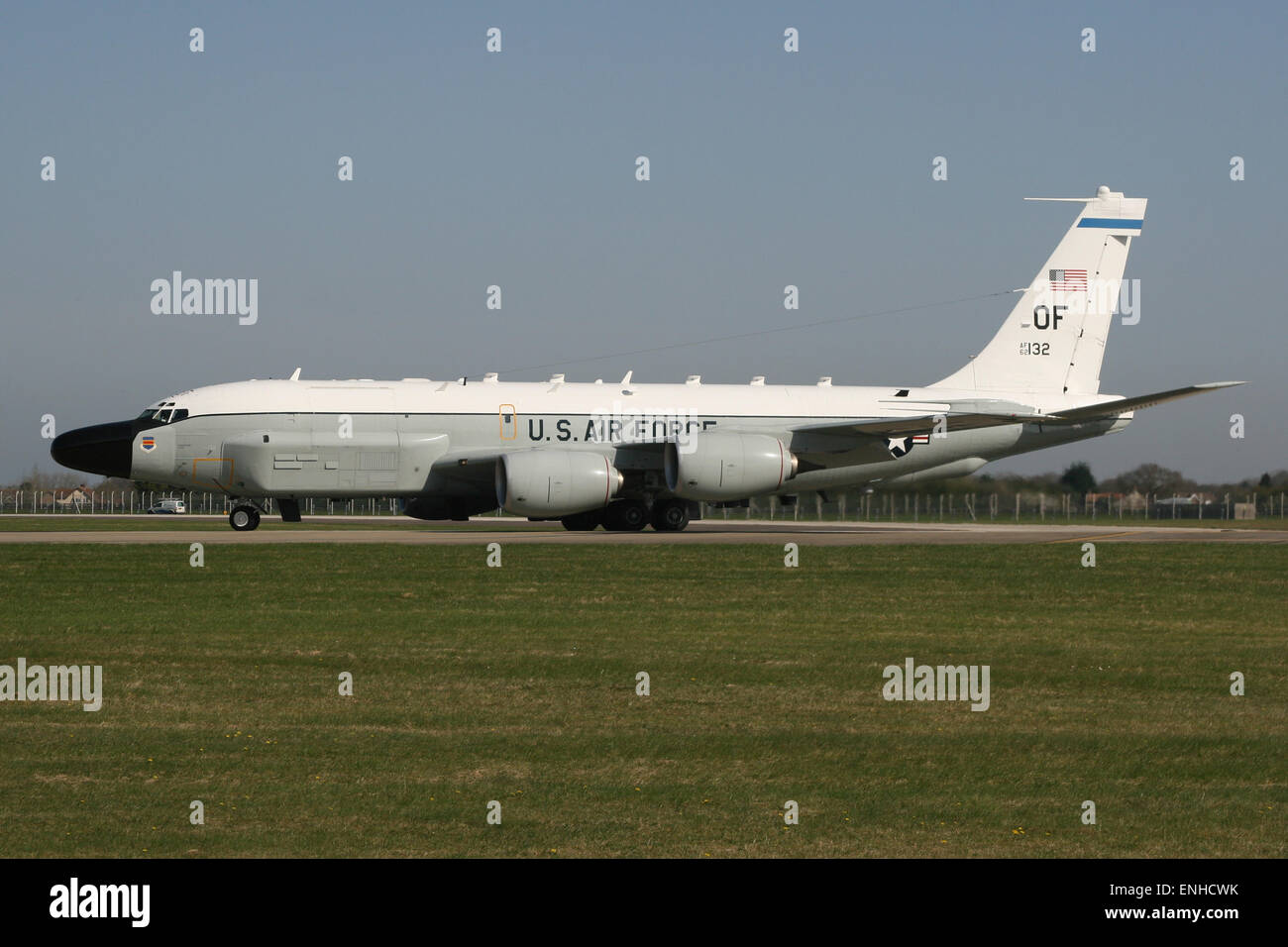 USAF RC 135 W RIVET JOINT Stockfoto