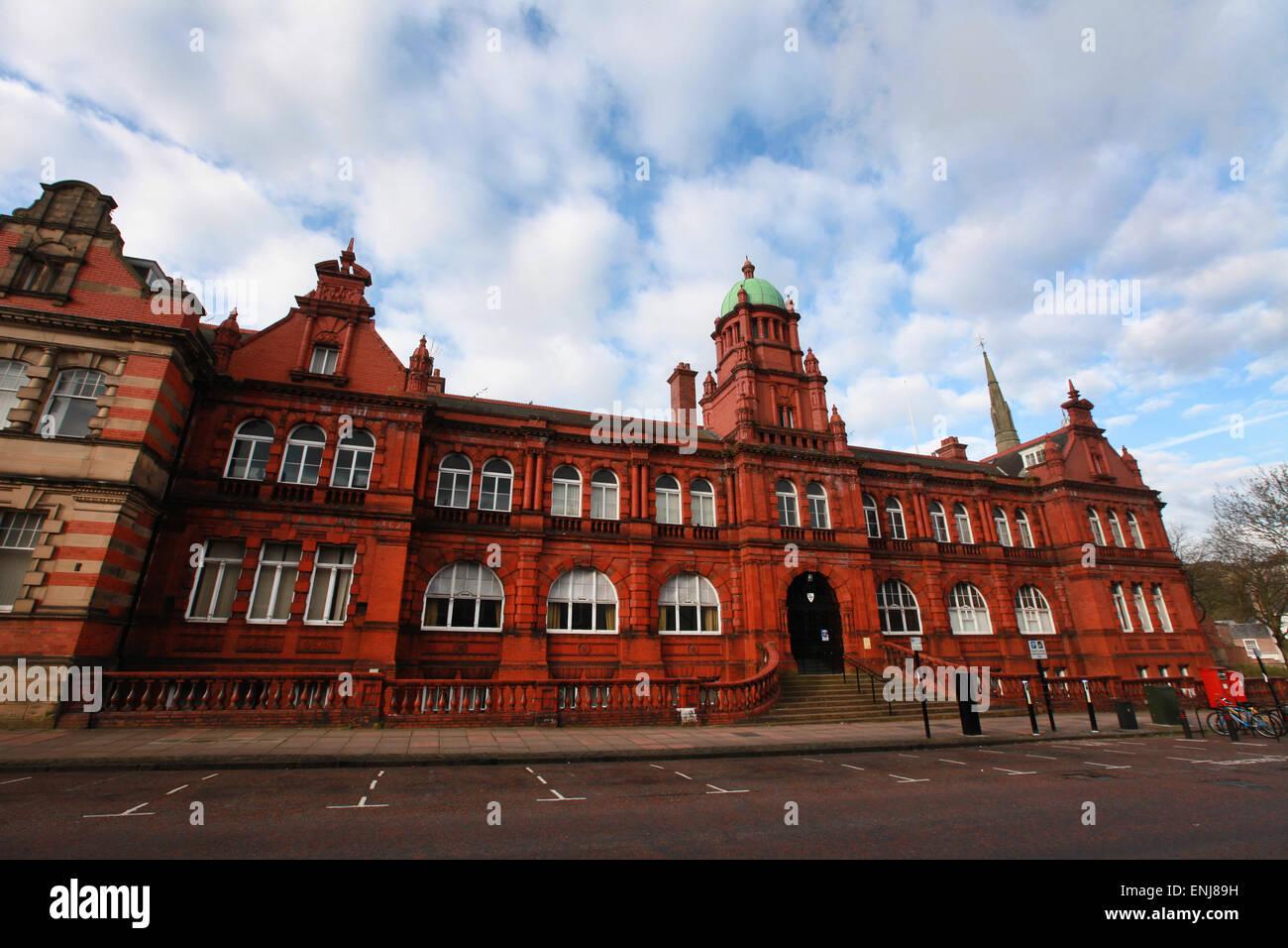 Durham University Büros Shire Hall Durham Altstadt Stockbild