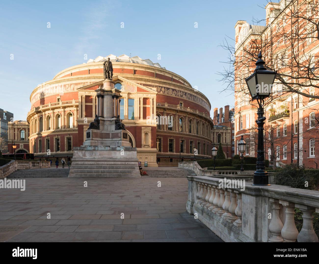 Außenseite der Royal Albert Hall, Kensington, London, England, Vereinigtes Königreich, Europa Stockbild