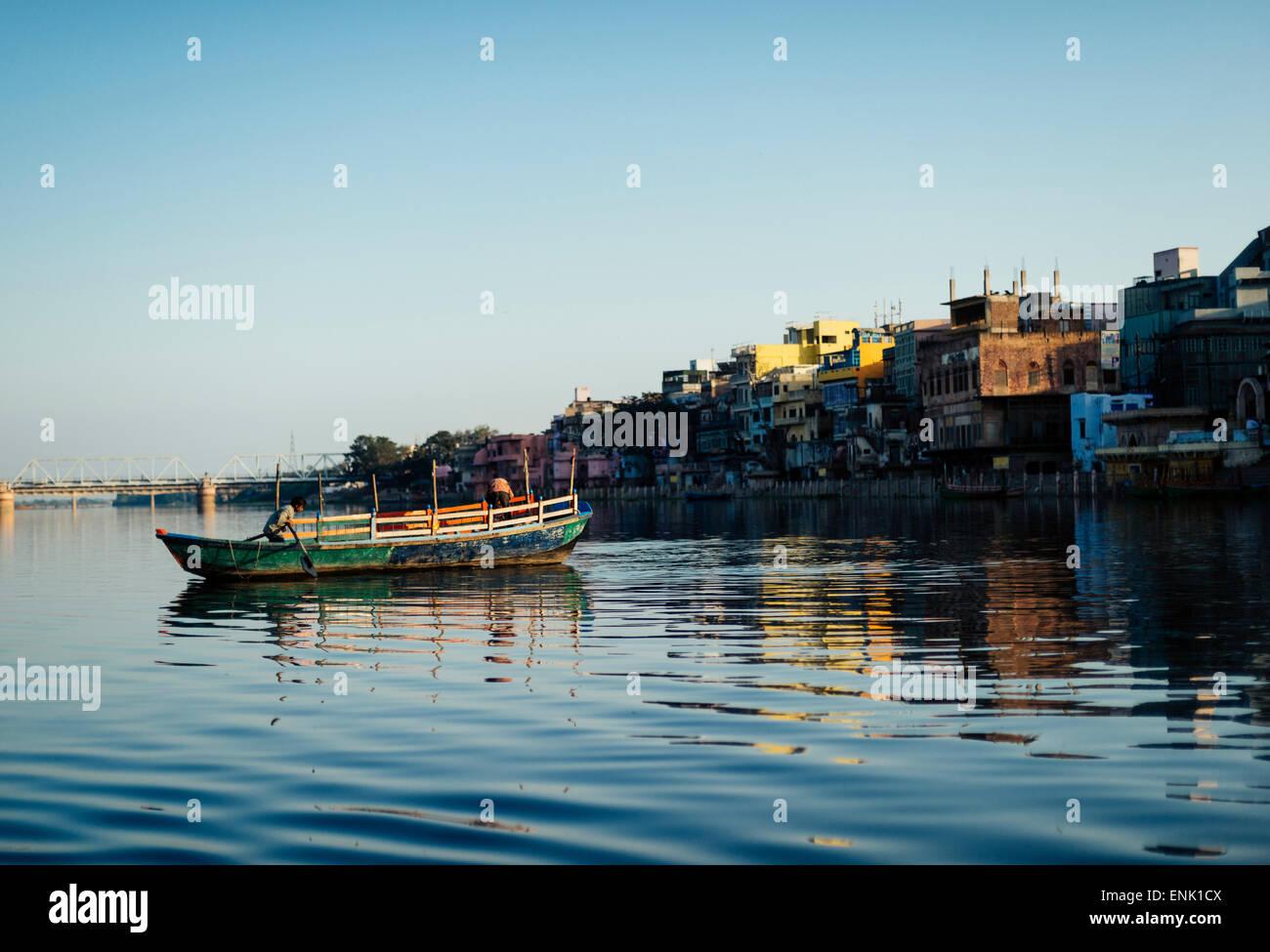 Mathura, Uttar Pradesh, Indien, Asien Stockbild