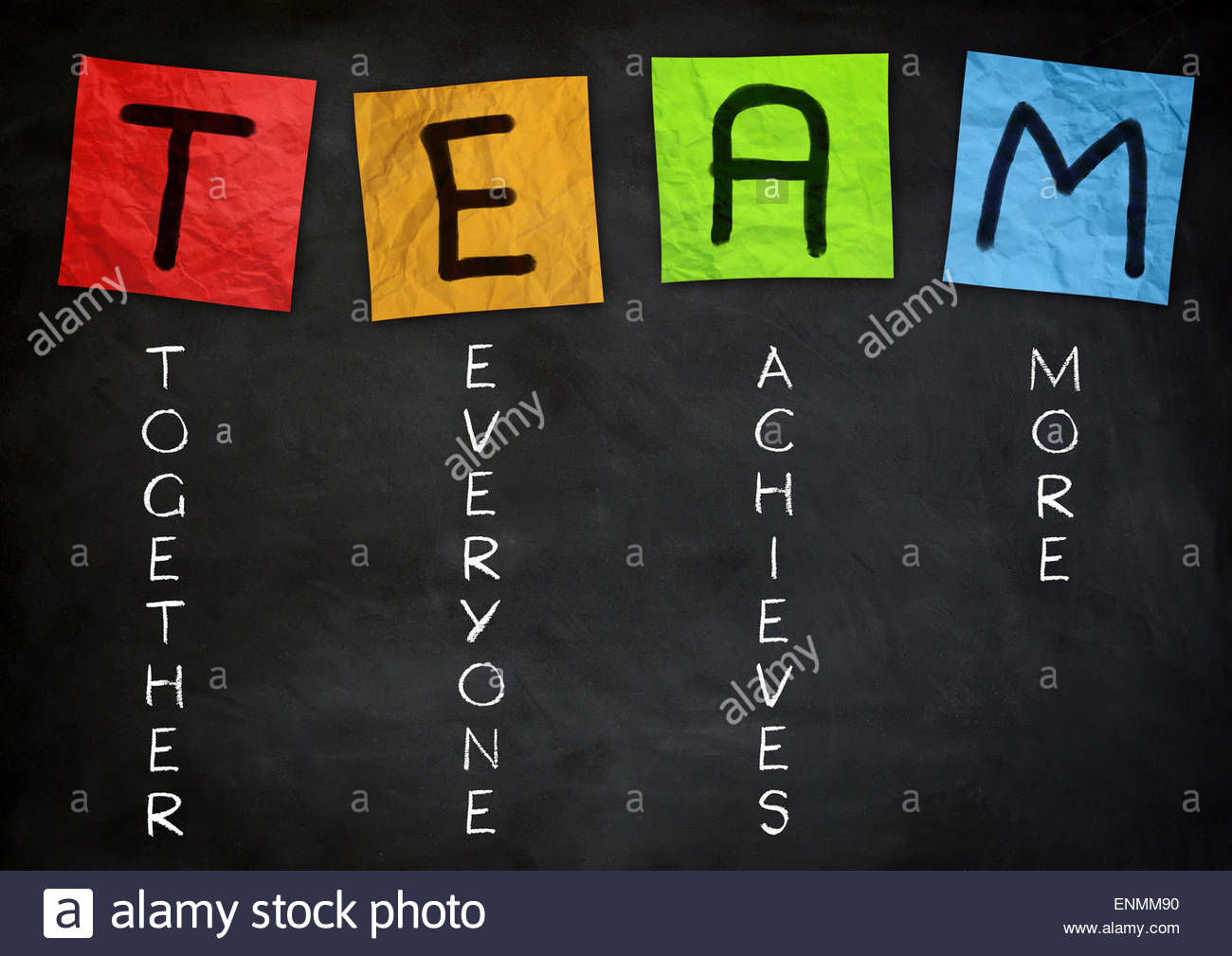 Team-Konzept Stockbild