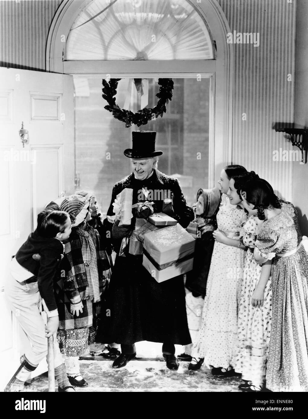A Christmas Carol, USA 1938, Regie: Edwin L. Marin, Monia: Reginald ...