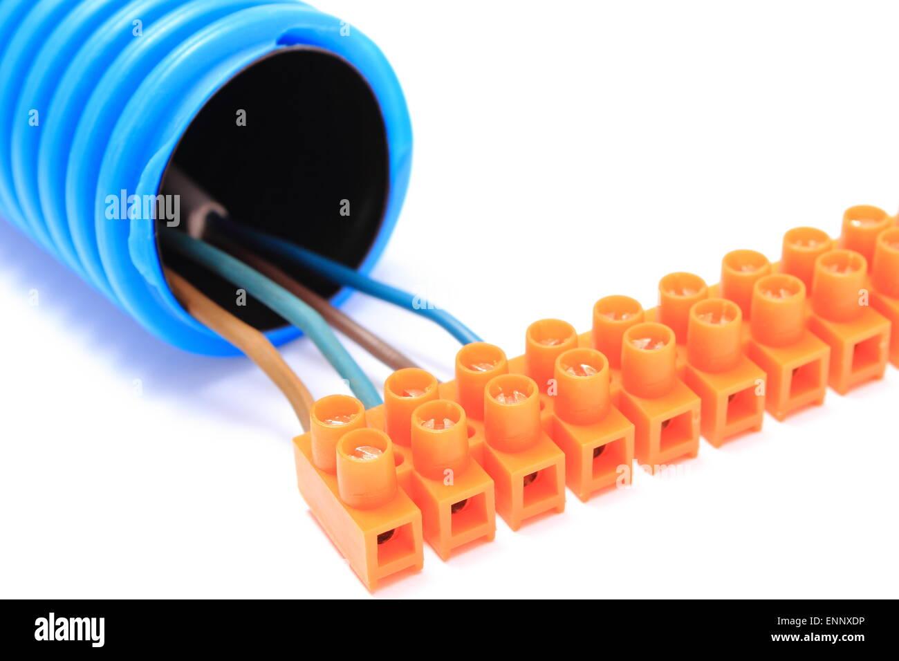 Erfreut Elektrische Kabelverbindung Fotos - Die Besten Elektrischen ...