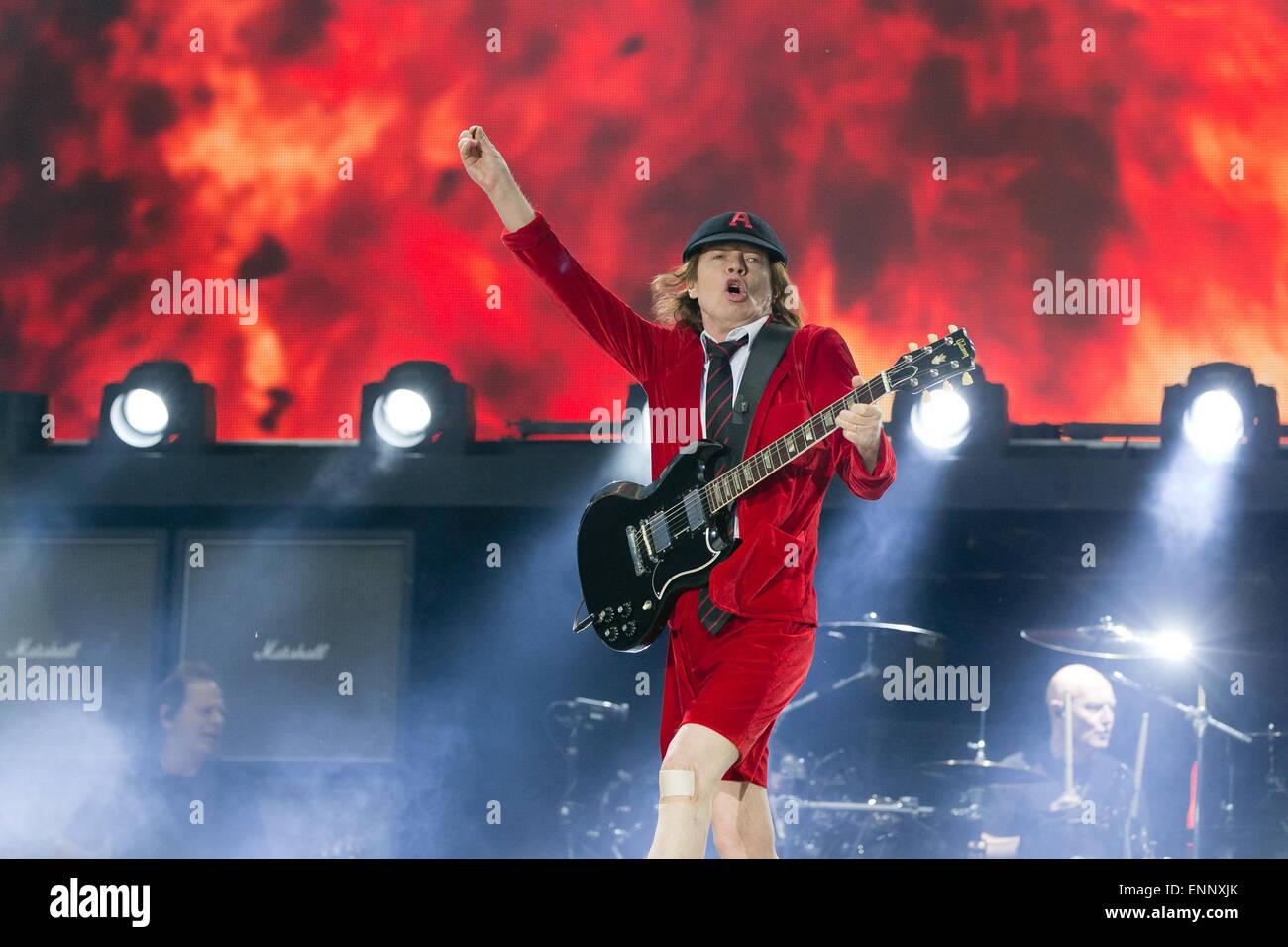 Nürnberg Deutschland 8 Mai 2015 Gitarrist Der Australischen