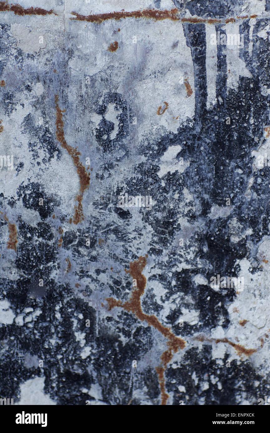 Farbigen Hintergrund bildete natürlich mit Korrosion Stockbild