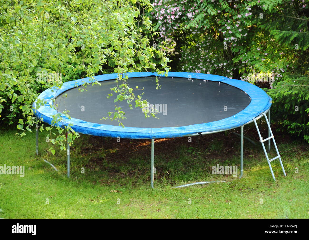 trampoline stockfotos trampoline bilder alamy. Black Bedroom Furniture Sets. Home Design Ideas