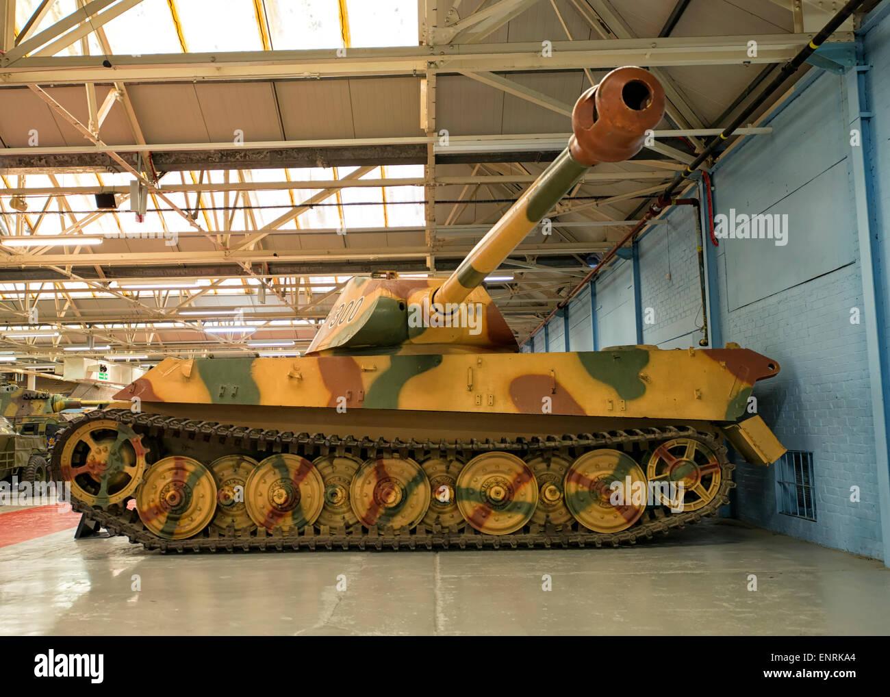 panzer vi tiger panzer im panzermuseum in bovington england stockfoto bild 82269324 alamy. Black Bedroom Furniture Sets. Home Design Ideas