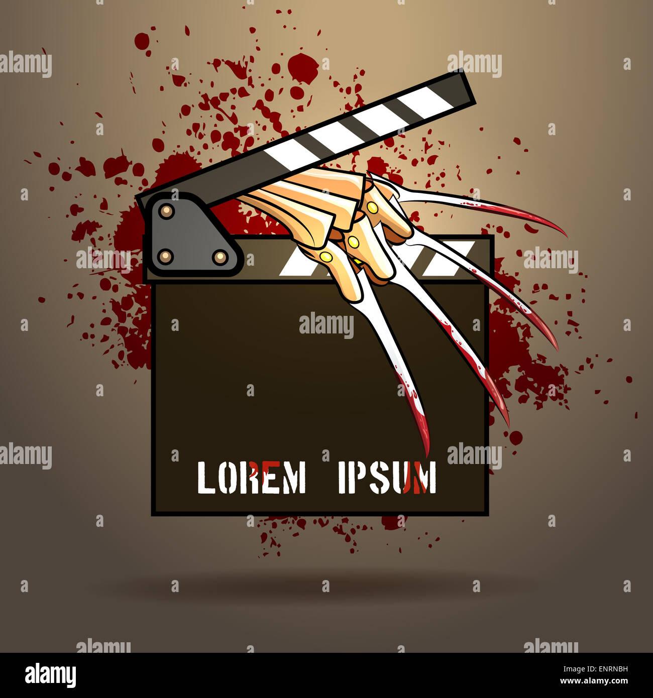 Scary Movie Film Poster Scary Stockfotos & Scary Movie Film Poster ...