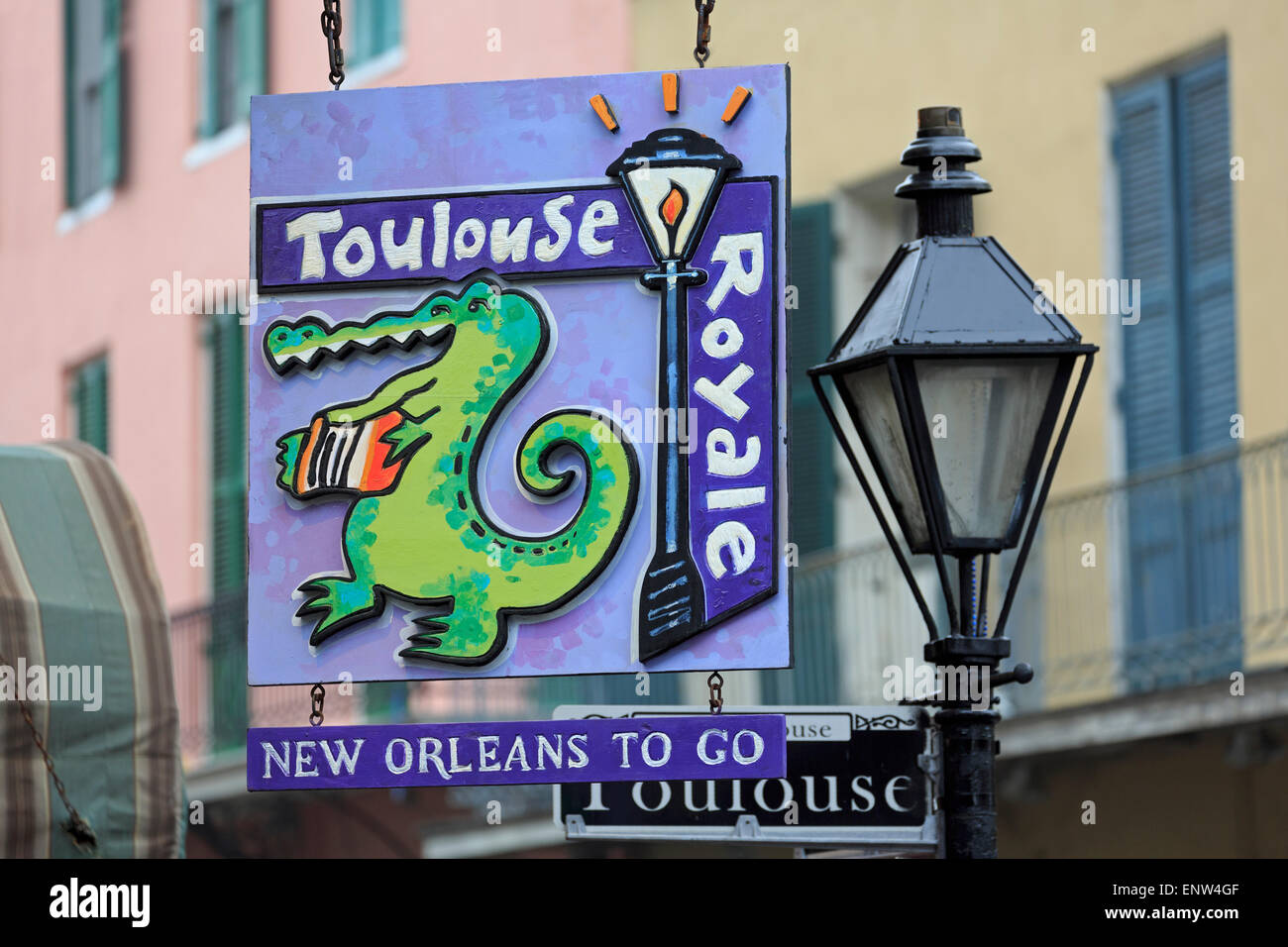 Royal Street New Orleans Stockfotos & Royal Street New Orleans ...