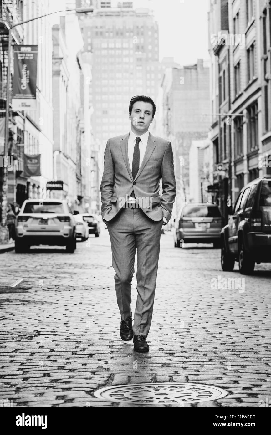 Männliche Mode Stockbild