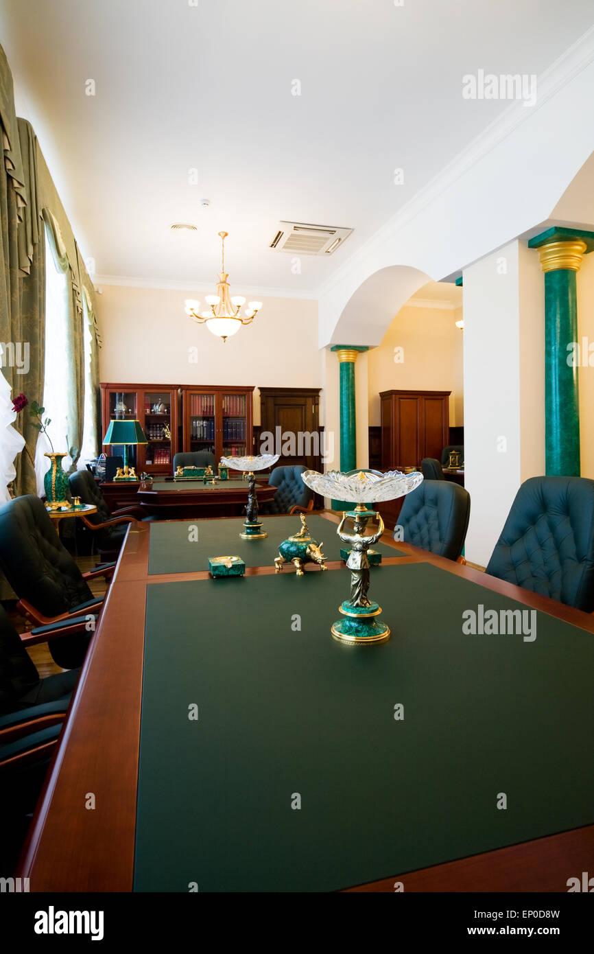 Moderne luxus büro  Moderne und Luxus Büro mit antiquarischen Themen Stockfoto, Bild ...