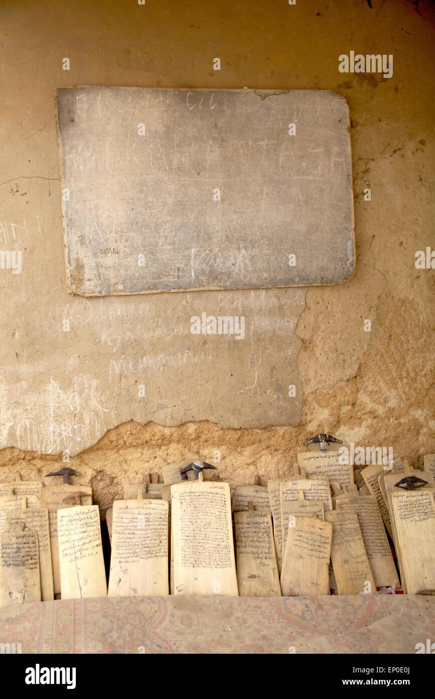 Kano Nigeria 1 April 2015 Auf Holztafeln Platziert Neben