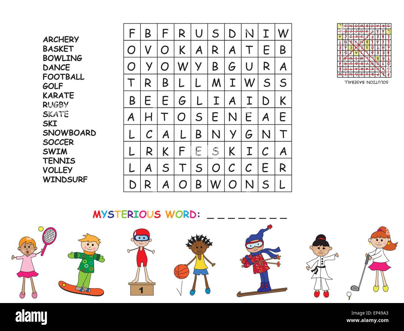 Spiel Wörter Finden