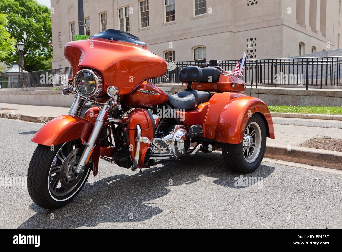 harley davidson trike stockfotos harley davidson trike bilder alamy. Black Bedroom Furniture Sets. Home Design Ideas